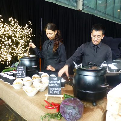 Wired for Wonder 2015 Soup Being Served
