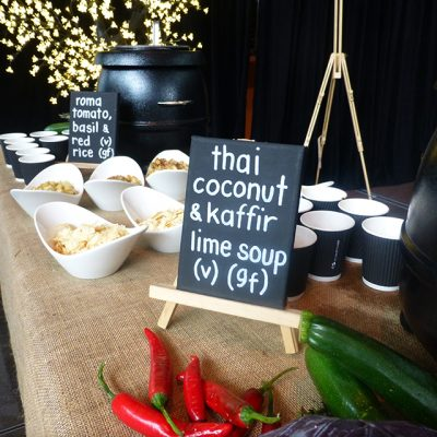 Wired for Wonder 2015 Soup Table