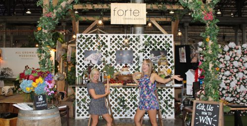 Forte Catering One Fine Day booth