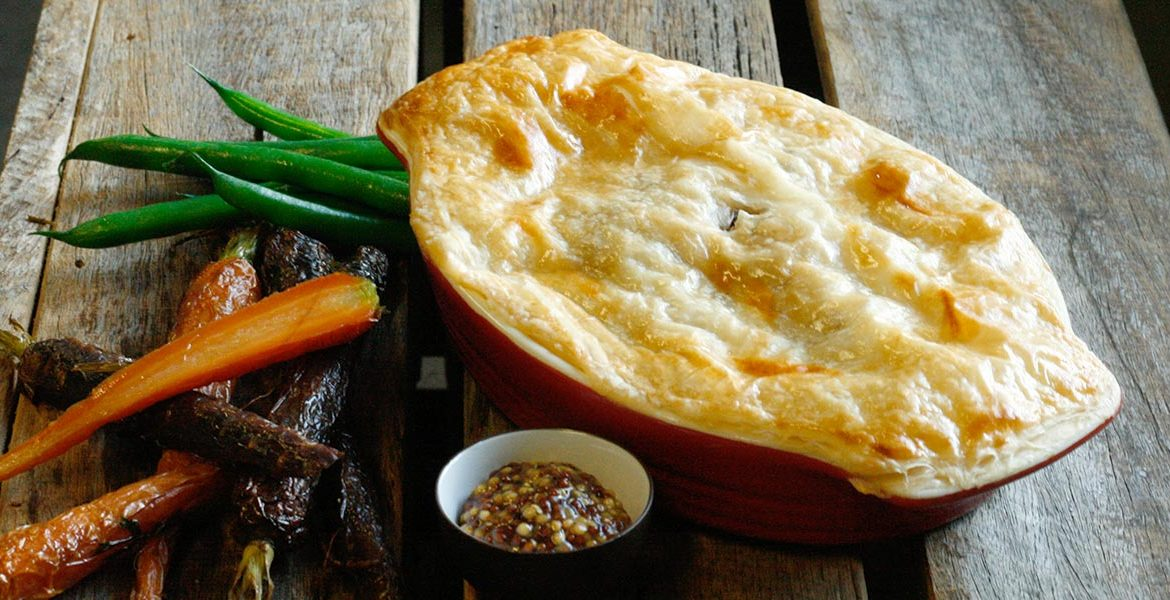 Beef Bourguignon Pie Recipe