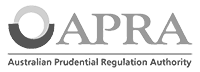 APRA logo - black & white