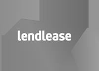 lendlease logo - black & white