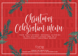 UMQ Christmas Menu